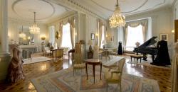 Interior del Palacio de la Magdalena