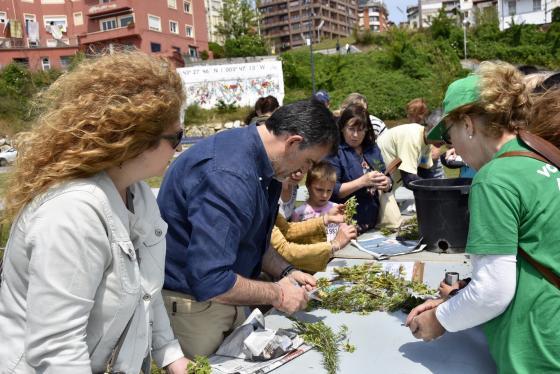 Santander inicia el reparto de árboles autóctonos de la Red de Jardines para la Biodiversidad