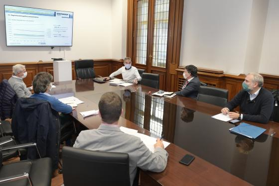 El grupo de trabajo aborda el diagnóstico previo del Plan de Movilidad