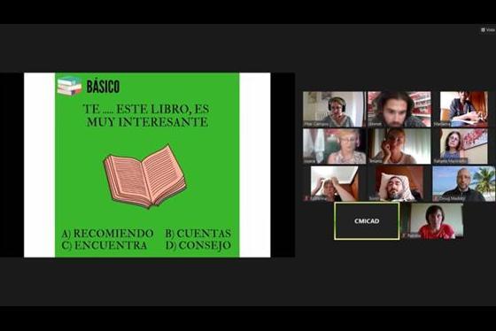 El CMICAD reanuda las clases online de español para vecinos de otros países