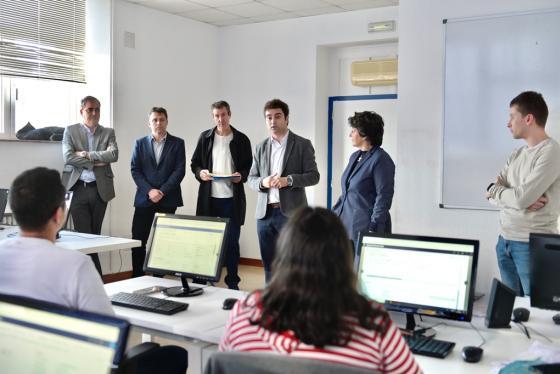 Portilla destaca la empleabilidad de la formación en planificación de recursos empresariales