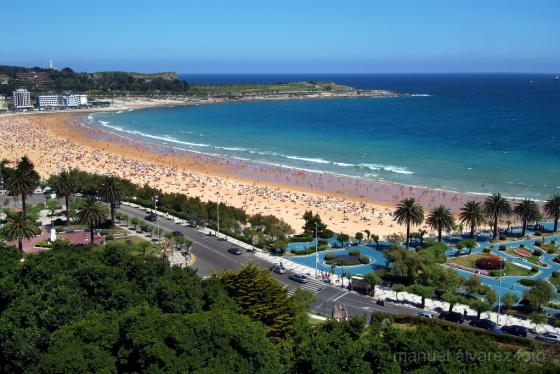 Jardines de Piquio y Segunda Playa