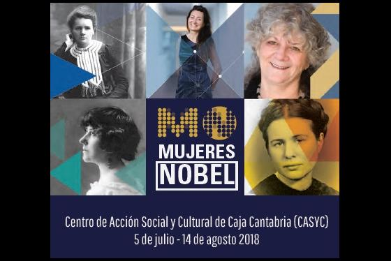 La exposición 'Mujeres Nobeles' se despide el martes de Santander