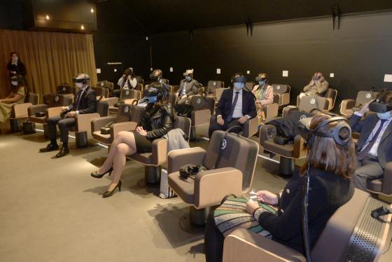 'Symphony' ofrece en Santander un viaje virtual al corazón de la música clásica