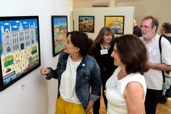 Más de 20 artistas de cinco países participarán en la Exposición Internacional de Pintura Naïf