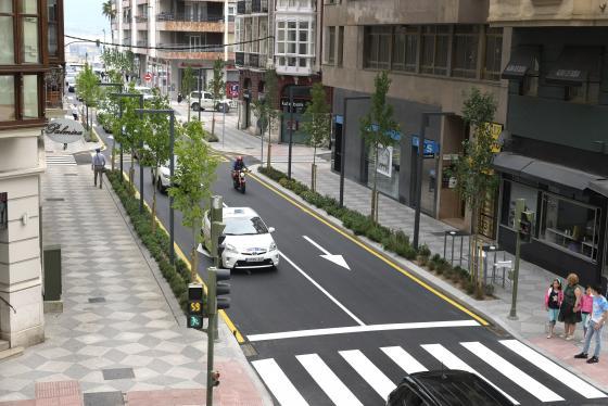 La mejora de Isabel II está completamente concluida entre las calles Castilla y Cádiz