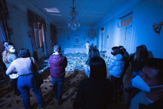 El Palacio de la Magdalena se convierte este fin de semana en 'La Mansión de las sensaciones'