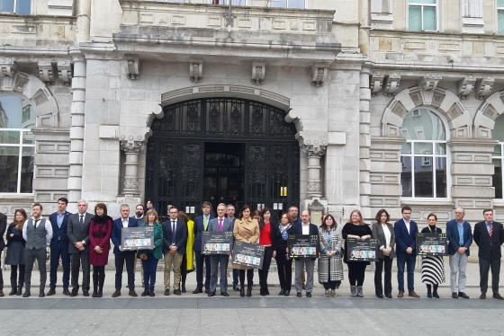 Santander guarda un minuto de silencio por las últimas víctimas de violencia machista