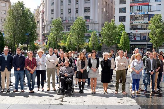 Santander refrenda su compromiso frente a la violencia for Oficina pelayo sevilla