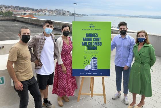 Santander presenta 'La Terraza de Tabacalera', conciertos desde la azotea del centro cívico