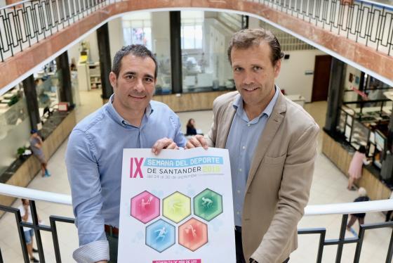 Santander saca el deporte a la calle del 24 al 30 de septiembre con más de 120 actividades gratuitas