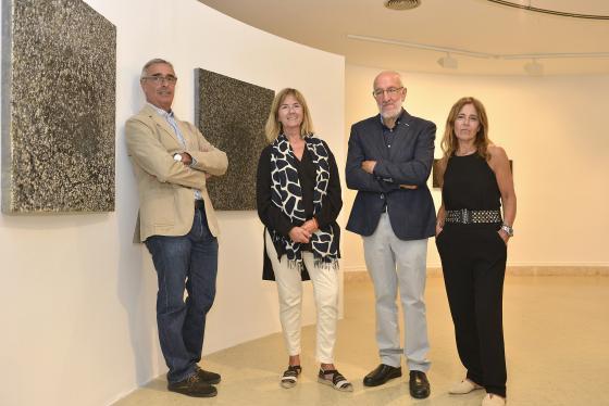 La obra de Juan Manuel Puente podrá contemplarse en la Escuela de Naútica hasta el 29 de septiembre