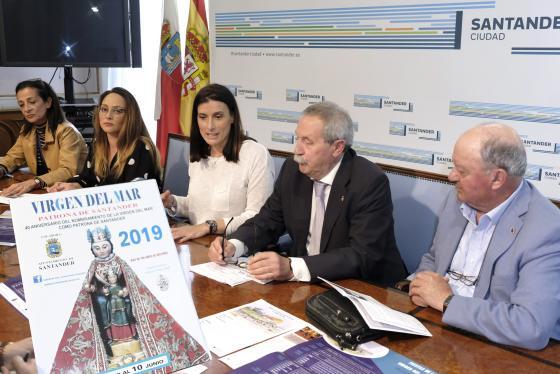 Santander celebra este año el 40 aniversario del nombramiento de la Virgen del Mar como patrona