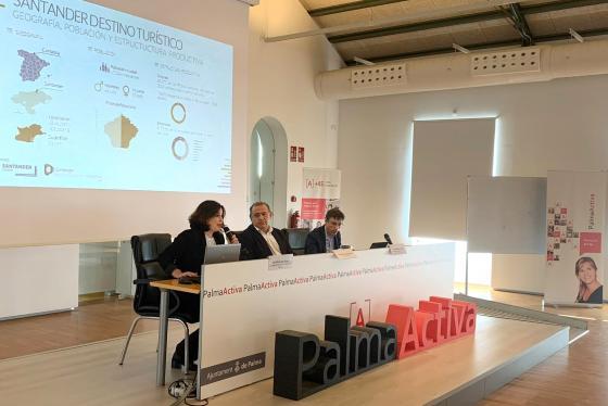 Santander expone en Palma los retos que afronta como Destino Turístico Inteligente