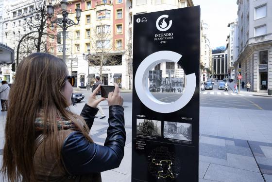 Santander ofrece este viernes visitas a la Ruta del Incendio por el 78 aniversario del suceso