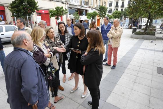 La alcaldesa recoge propuestas para mejorar el entorno de Hernán Cortés