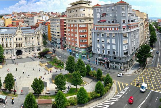 Santander aprueba nuevas ayudas para obras en fachadas e instalación de ascensores
