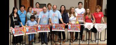 Siete peñas apoyarán este año otras tantas causas solidarias a través de sus actividades en la Semana Grande