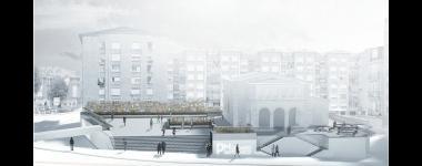 Las obras de remodelación de la plaza del Mercado de Puertochico comenzarán la primera quincena de octubre