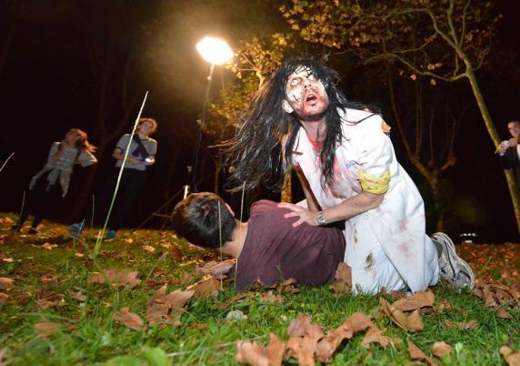 La Magdalena Acoge El Juego De Terror Apocalipsis Zombie Dentro De